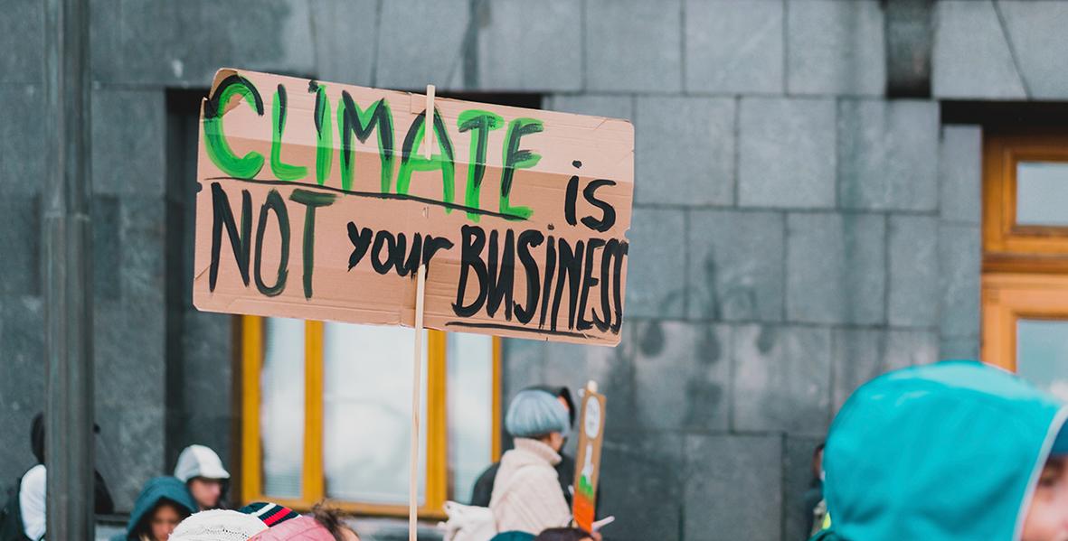 kapitalisme en klimaat Shift Talks